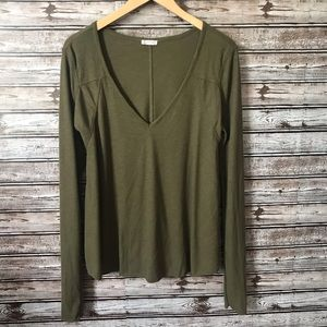 Free people Intimately long sleeved ribbed tee
